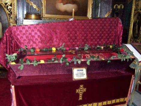 3. Sf Stefan Stelianovici, ultimul despot al Serbiei 4 sfintele moaste