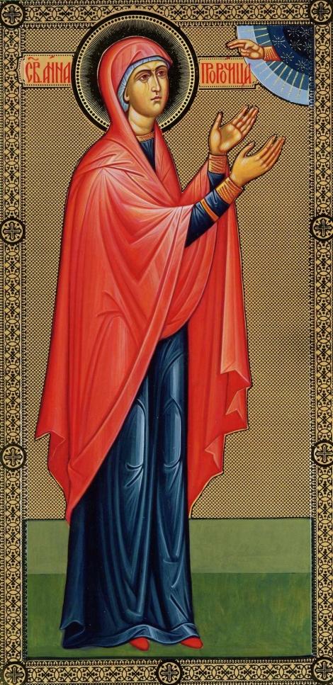 3. Sf Proorocita Ana, mama Sf Prooroc Samuel (sec IX i.Hr.) 3.1
