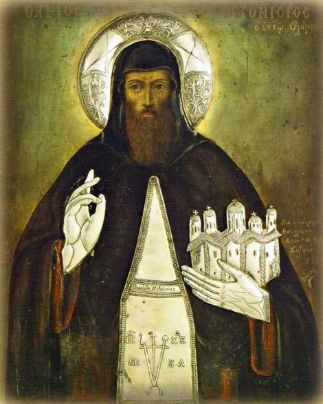 Sf Cuv Dionisie din Olimp, Grecia 5