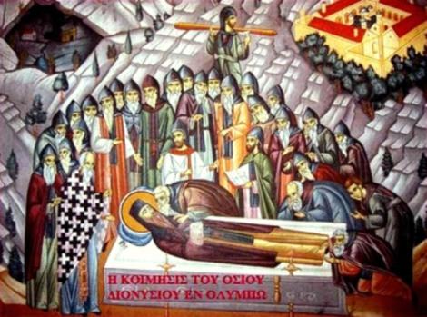 Sf Cuv Dionisie din Olimp, Grecia 7.1