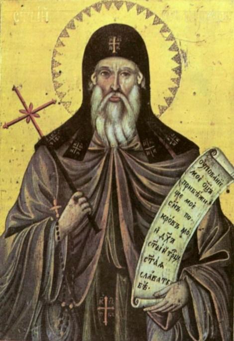 Sf. Cuv Prohor, staretul din pustia Vranski de pe raul Pşina, Bulgaria 3.1