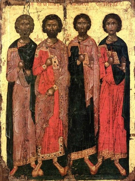 Sf Mc Candid, Evghenie, Valerian si Achila din Trapezunt 1.1