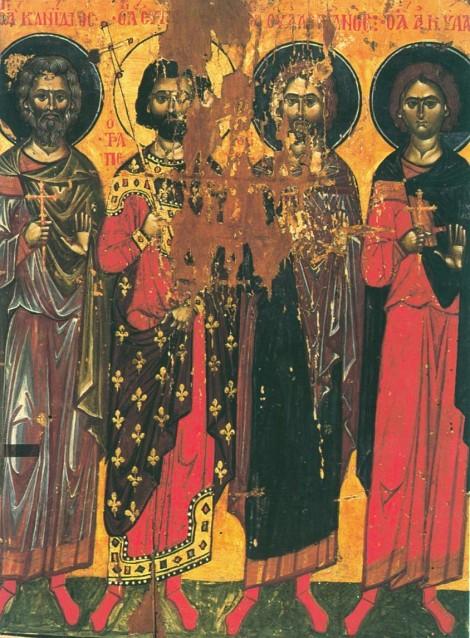 Sf Mc Candid, Evghenie, Valerian si Achila din Trapezunt 2.1