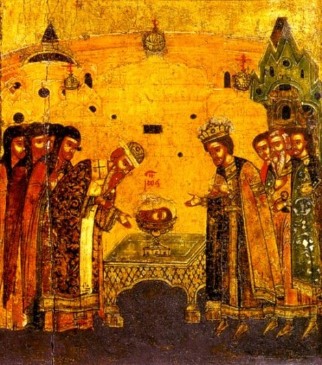 A treia aflare a capului Sf Prooroc Ioan Botezatorul 1