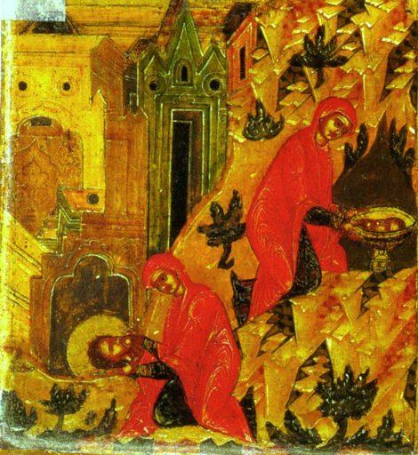 Intaia si a doua aflare a capului Sf Prooroc Ioan Botezatorul 19.1
