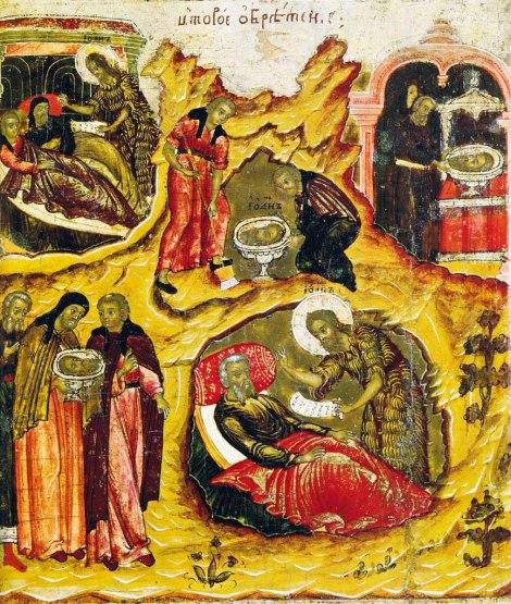 Intaia si a doua aflare a capului Sf Prooroc Ioan Botezatorul 5