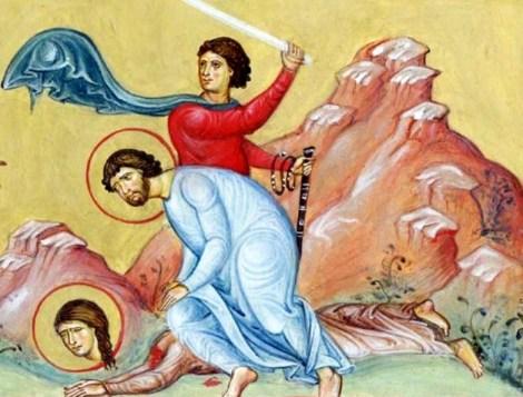 Sf Ap Arhip, Filimon si Apfia, sotia sa 1.3