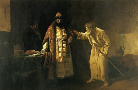Sf Nicolae cel Nebun pentru Hristos din Pskov, Rusia (1576) 3