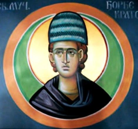 Sf Nou Mc Gheorghe aurarul din Kratovo, Serbia, care a patimit in Sofia, Bulgaria (1515) 11.1