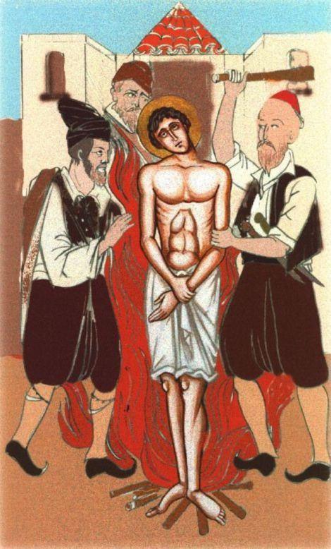 Sf Nou Mc Gheorghe aurarul din Kratovo, Serbia, care a patimit in Sofia, Bulgaria (1515) 7