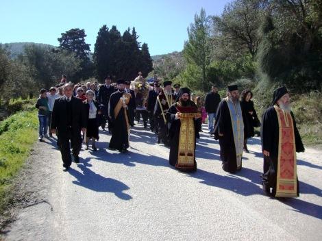 Sf Sf Mc Righin, ep de Scopelos, Grecia (362) 10 procesiune