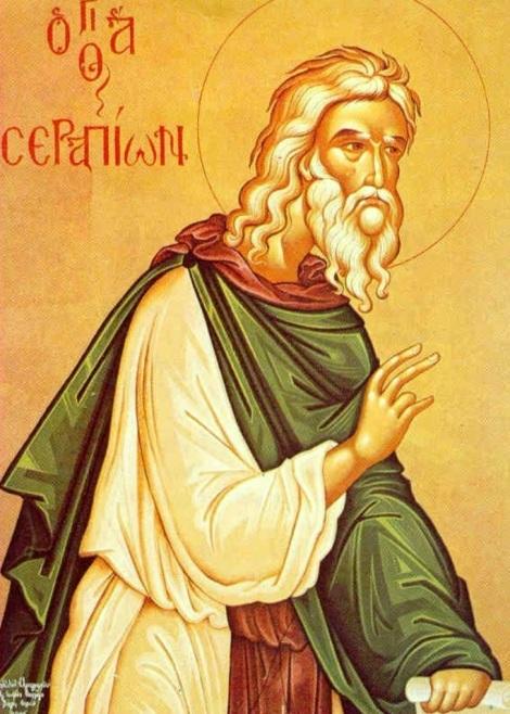Sf Cuv Serapion Sidonitul sau Panzarul (sec IV) 1.1