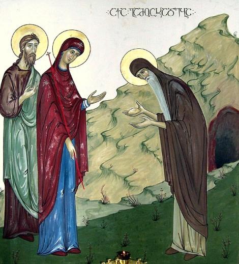 Sf Cuv Shio sau Simeon din Mgvime, Georgia 1