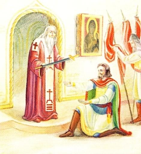 Sf Dovmont Timotei, cneaz de Pskov 2