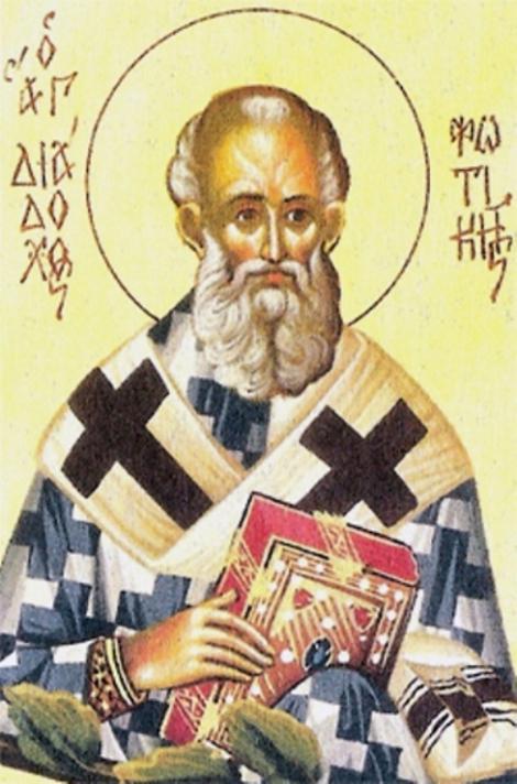 Sf Ier Diadoh, episcop al Foticeii, Epir, Grecia (sec V) 4