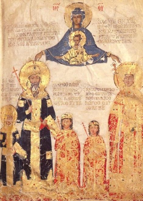 Sf imparateasa Ipomoni, Constantinopol, Bizant 2