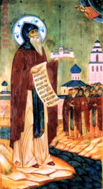 Sf Mc Ioasaf, staretul Man Snetogorsk, Pskov, Rusia (1299) 1.1