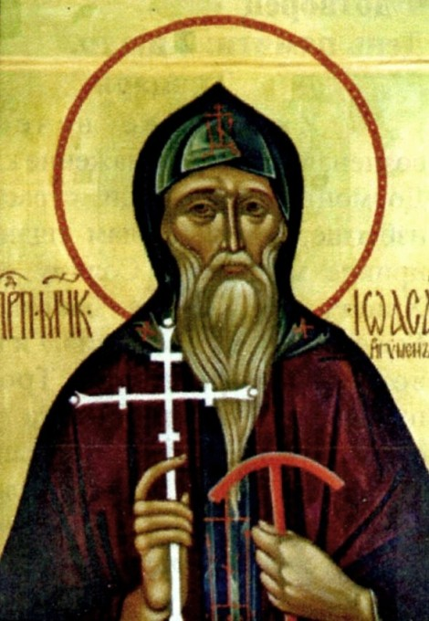 Sf Mc Ioasaf, staretul Man Snetogorsk, Pskov, Rusia (1299) 2.1