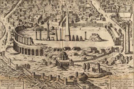 Hipodromul din Costantinopol, gravat de Onufrio Panavinio, 1600 1.1