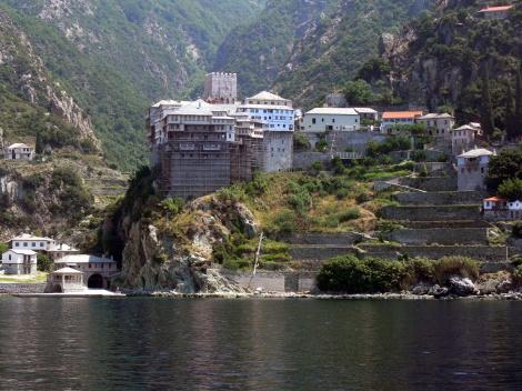 Man Dionisiu, Sf Munte Athos 3