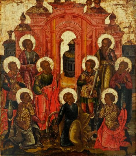 Sf 9 Mc Teognis, Ruf, Antipatru, Teostih, Artemas, Magnon, Teodot, Tavmasie, Filimon din Cizic 4.1