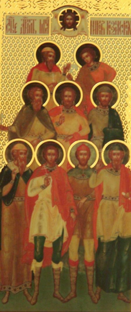 Sf 9 Mc Teognis, Ruf, Antipatru, Teostih, Artemas, Magnon, Teodot, Tavmasie, Filimon din Cizic 8.1