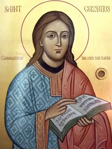 Sf Cuv Gherontie Canonarhul de la Lavra Pesterilor din Kiev, Ucraina 4.1