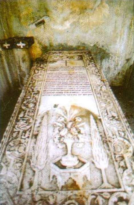 Sf Noua Mc Arghira din Brusa, Asia Mica (1721) 4.1 mormantul