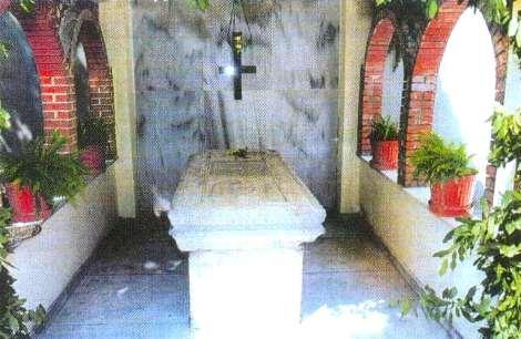 Sf Noua Mc Arghira din Brusa, Asia Mica (1721) 5.1 mormantul