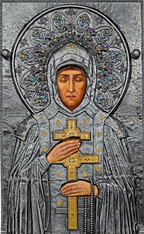 Sf Cuv Eufrosina, stareta Man Polotk (1164) 14
