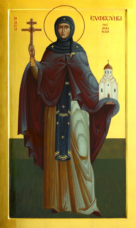 Sf Cuv Eufrosina, stareta Man Polotk (1164) 2.1