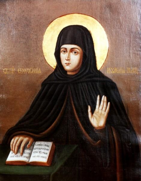 Sf Cuv Eufrosina, stareta Man Polotk (1164) 4