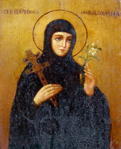 Sf Cuv Eufrosina, stareta Man Polotk (1164) 5.1