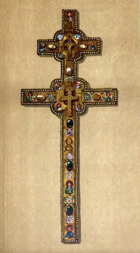 Sf Cuv Eufrosina, stareta Man Polotk (1164) 6 crucea