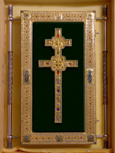 Sf Cuv Eufrosina, stareta Man Polotk (1164) 7 crucea