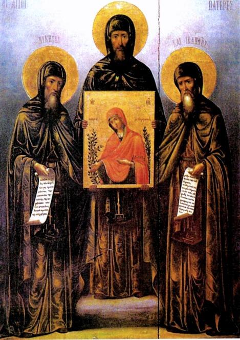 Sf Cuv Nichita, Iosif si Ioan din Man Noua din Hios 1.2