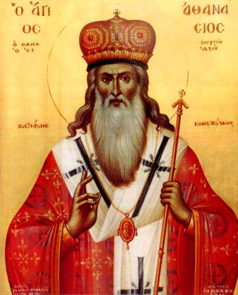Sf Ier Atanasie al III-lea Patelarie, patriarhul Constantinopolului 1.1