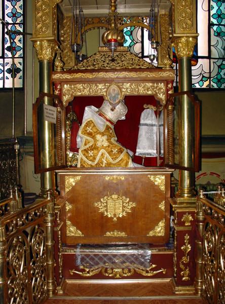 Sf Ier Atanasie al III-lea Patelarie, patriarhul Constantinopolului 2 sf moaste
