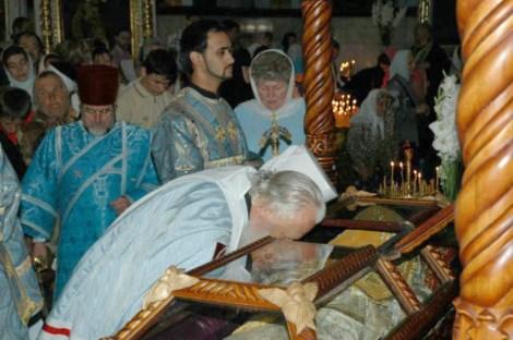Sf Ier Inochentie, arhiepiscopul Odessei (1857) 14 sf moaste