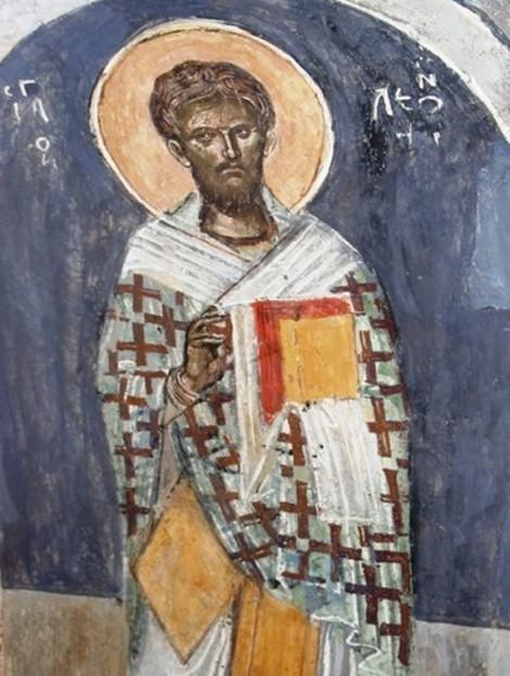 Sf Ier Leontie, patriarhul Ierusalimului (1175) 2