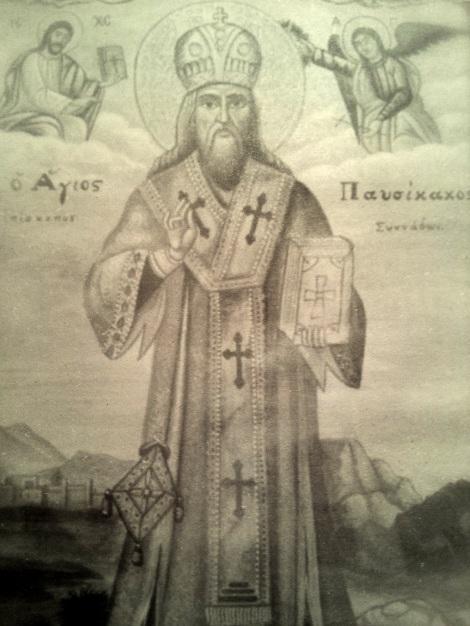 Sf Ier Pavsicacos, episcopul Sinadei 1