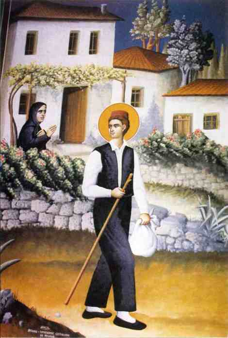 Sf Nou Mc Arghir croitorul din Apanomi, Macedonia (1806) 1