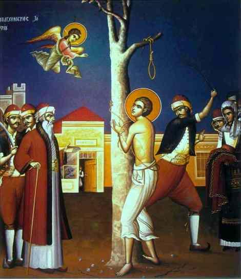 Sf Nou Mc Arghir croitorul din Apanomi, Macedonia (1806) 8