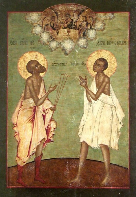Sf Procopie și Ioan din Ustiug cei nebuni pentru Hristos 3.1