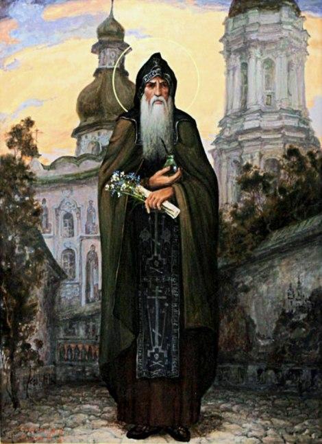 Sf Cuv Agapit doctorul fara de arginti de la Lavra Pesterilor din Kiev (sec XI) 3.1