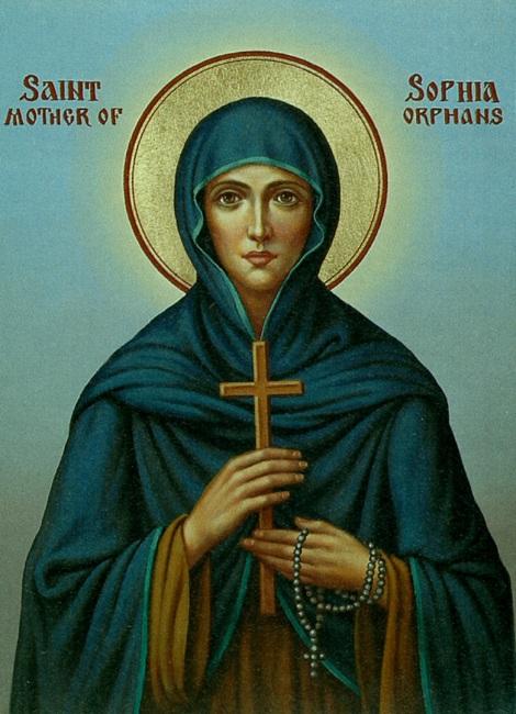 Sf Cuv Sofia din Ainos, mama orfanilor, Tracia, Turcia 1.1