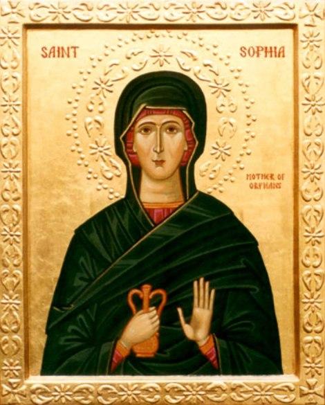 Sf Cuv Sofia din Ainos, mama orfanilor, Tracia, Turcia 2.1