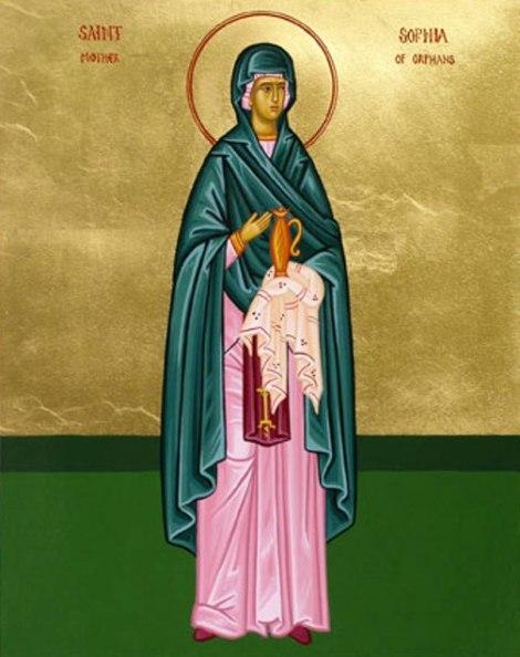 Sf Cuv Sofia din Ainos, mama orfanilor, Tracia, Turcia 3.1
